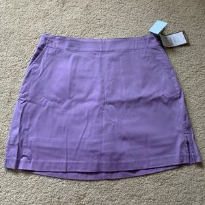 NWT Purple Lady Hagen Golf Skirt